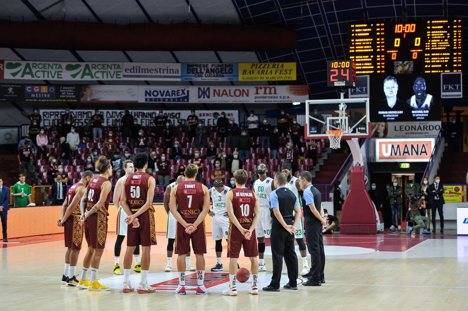 Moment of Silence - Umana Reyer Venice (photo Reyer) - EC20
