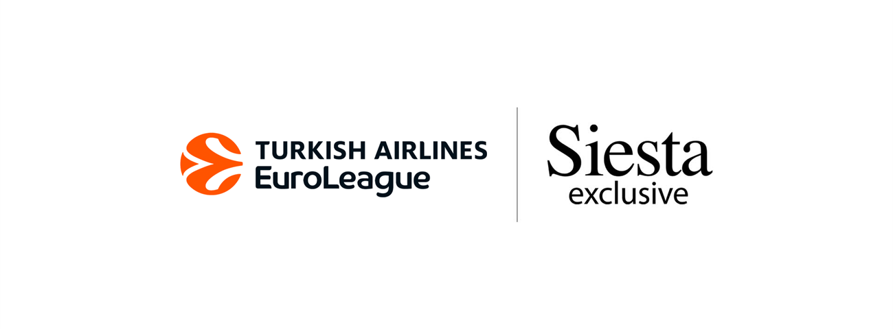 Euroleague Basketball, Siesta renew official partnership