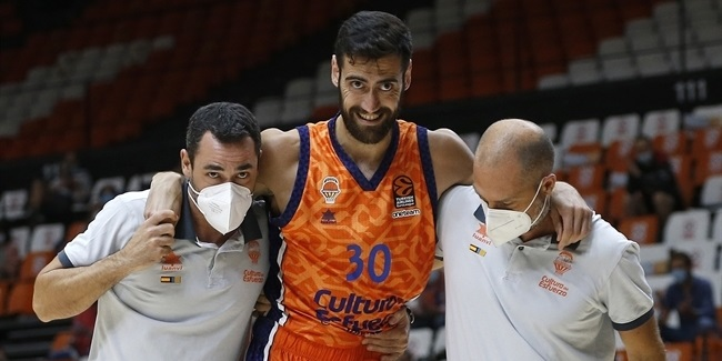EuroLeague, Round 2 injury report