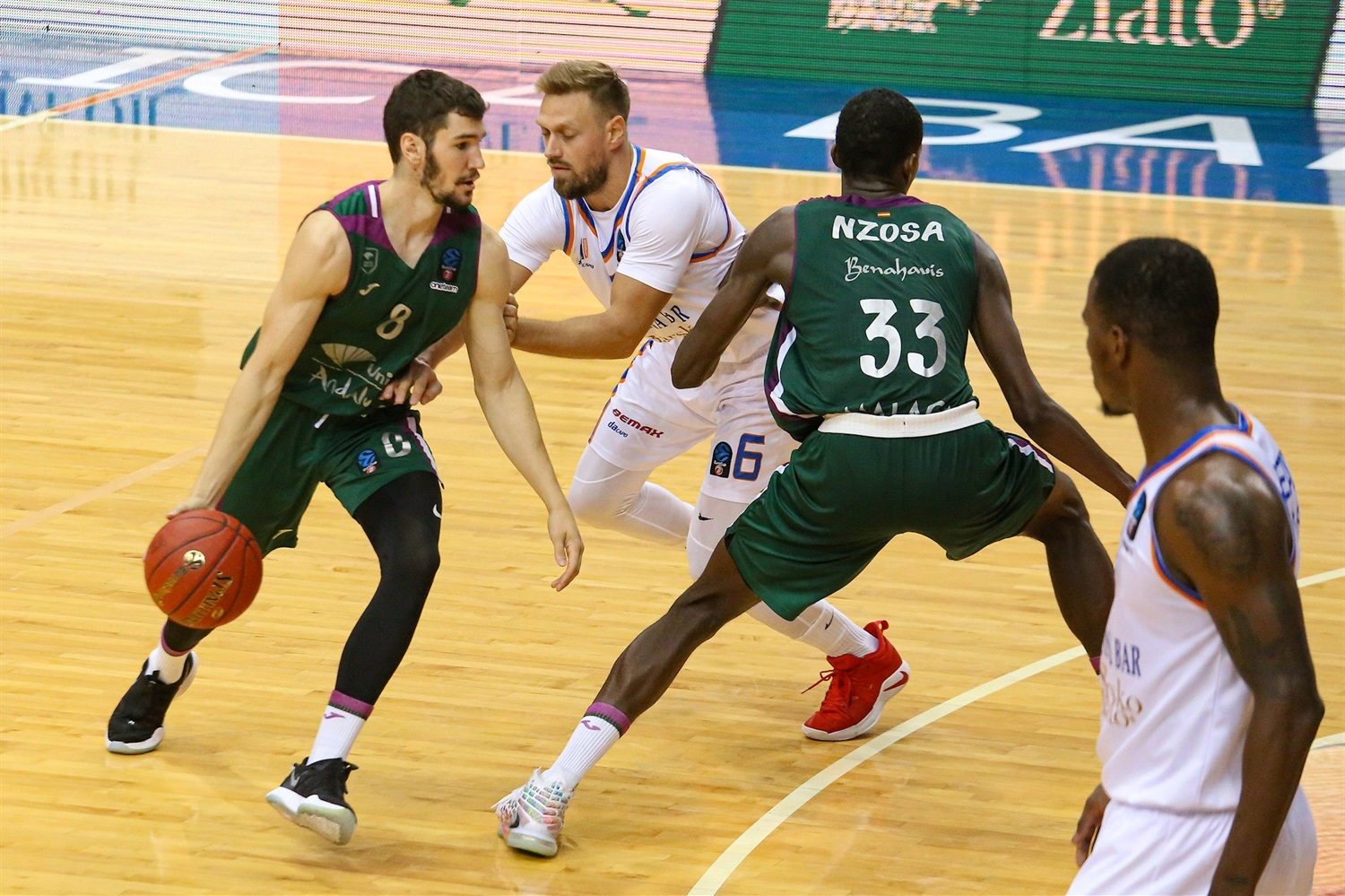 Dario Brizuela - Unicaja Malaga (photo Mornar) - EC20