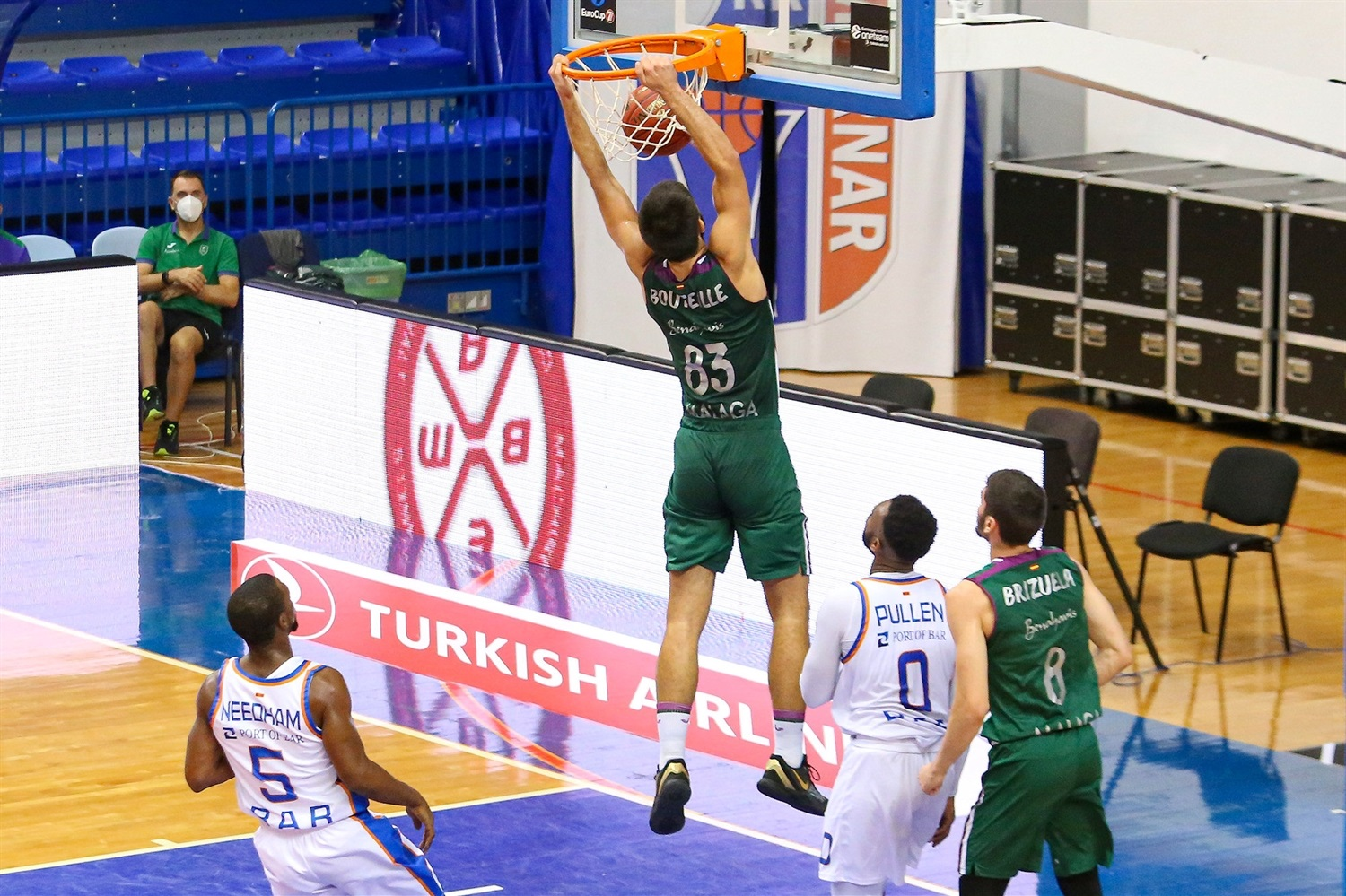 Axel Bouteille - Unicaja Malaga (photo Mornar) - EC20