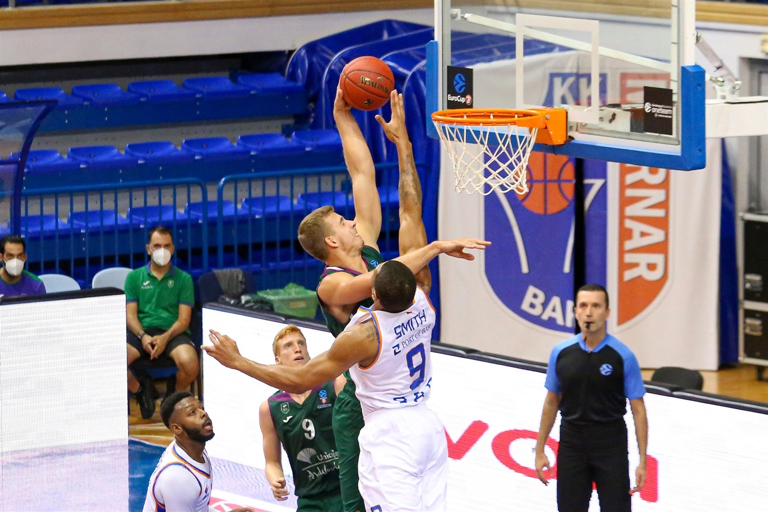 Volodymyr Gerun - Unicaja Malaga (photo Mornar) - EC20
