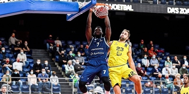 7DAYS EuroCup, Regular Season Round 2: Telenet Giants Antwerp vs. MoraBanc Andorra