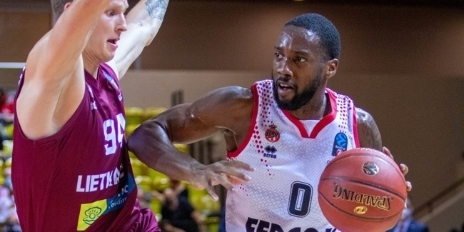 7DAYS EuroCup, Regular Season Round 2: AS Monaco vs. Lietkabelis Panevezys