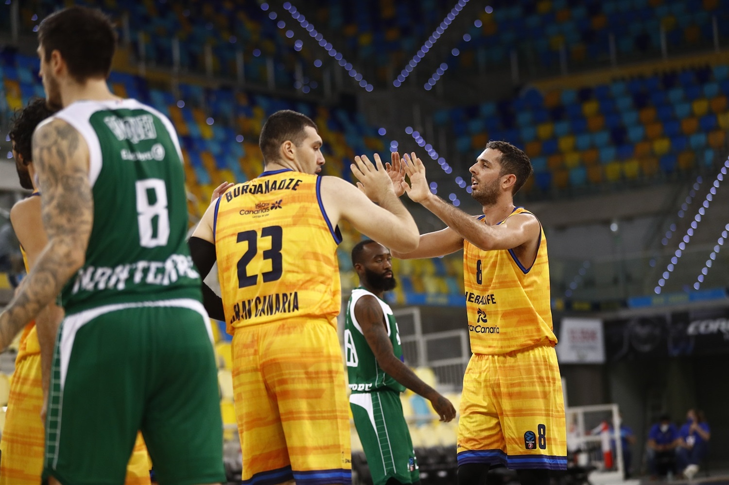 Amedeo Della Valle celebrates - Herbalife Gran Canaria (photo Gran Canaria) - EC20