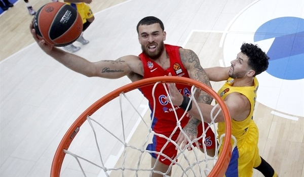 RS2 Report: Clyburn, James power CSKA past Maccabi