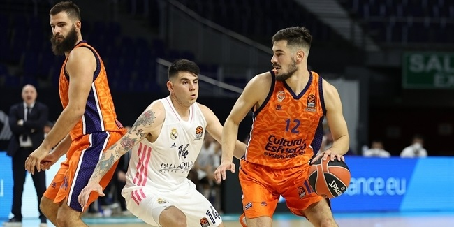 RS Round 2: Real Madrid vs. Valencia Basket