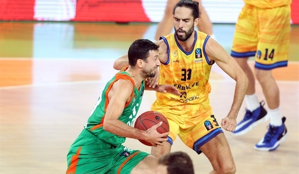 RS03 Report: Olimpija fights off Gran Canaria for first win
