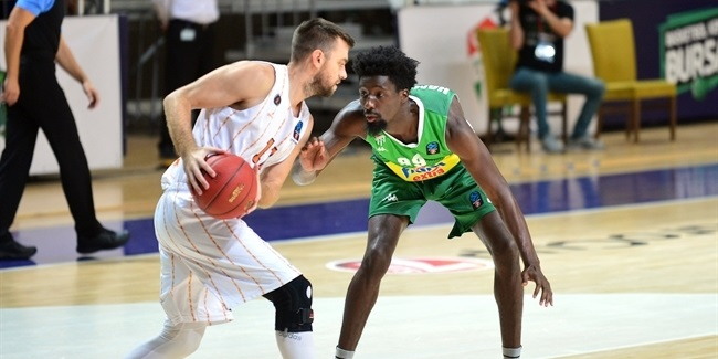 7DAYS EuroCup, Regular Season Round 3: Frutti Extra Bursaspor vs. Promitheas Patras