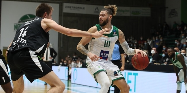 7DAYS EuroCup, Regular Season Round 3: Nanterre 92 vs. Dolomiti Energia Trento