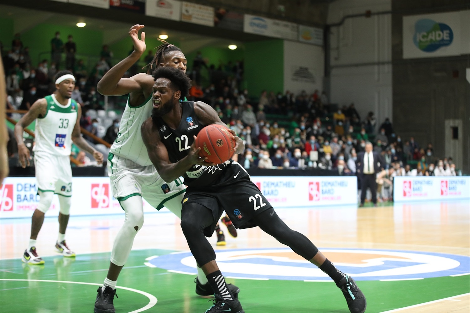 JaCorey Williams - Dolomiti Energia Trento (photo Nanterre - Claire - Macel) - EC20