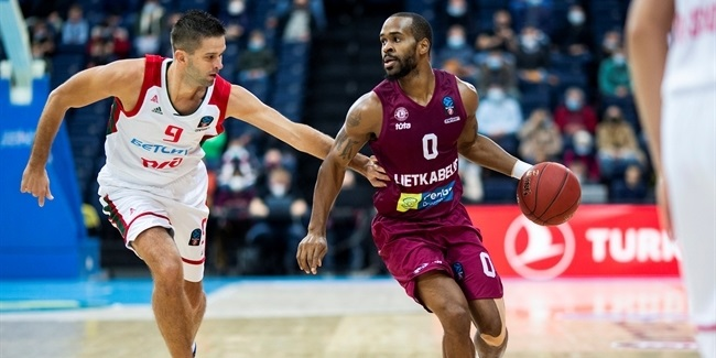 7DAYS EuroCup, Regular Season Round 3: Lietkabelis Panevezys vs. Lokomotiv Kuban Krasnodar