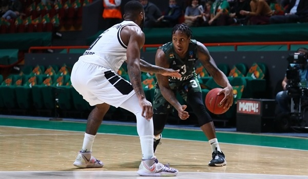 RS03 Report: UNICS roars past Partizan