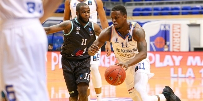 7DAYS EuroCup, Regular Season Round 3: Mornar Bar vs. Germani Brescia