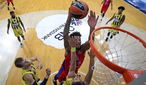 RS3 Report: Clyburn lifts CSKA past Fenerbahce