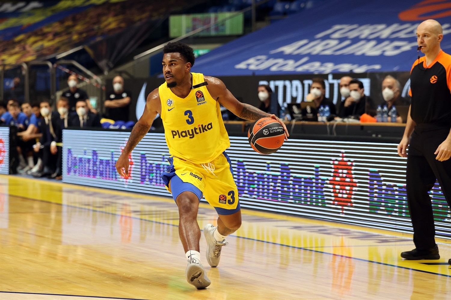 Chris Jones - Maccabi Playtika Tel Aviv - EB20
