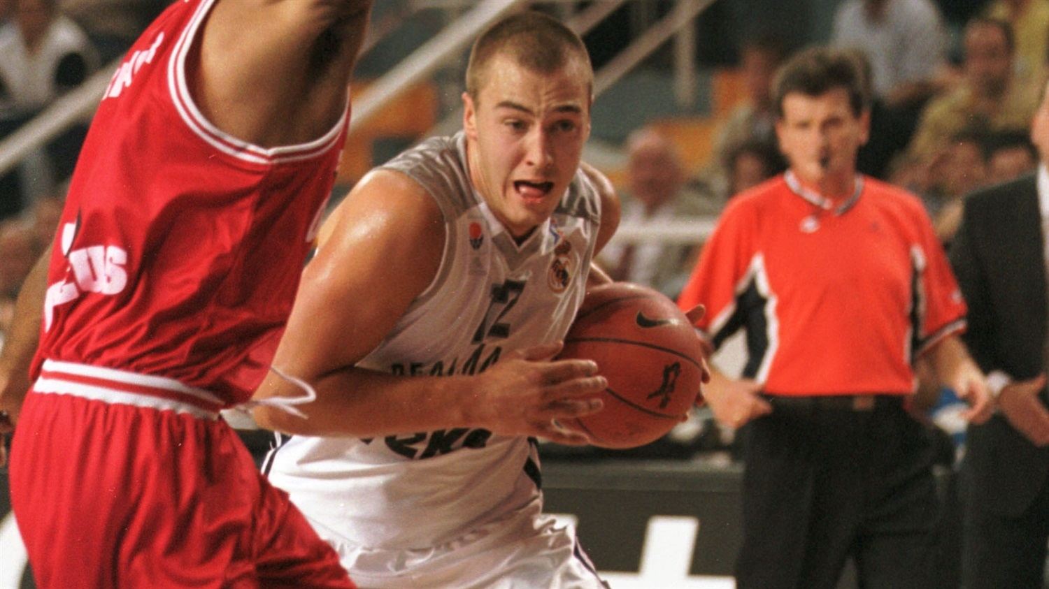Marko Milic came off the bench for Real to contribute 10 points