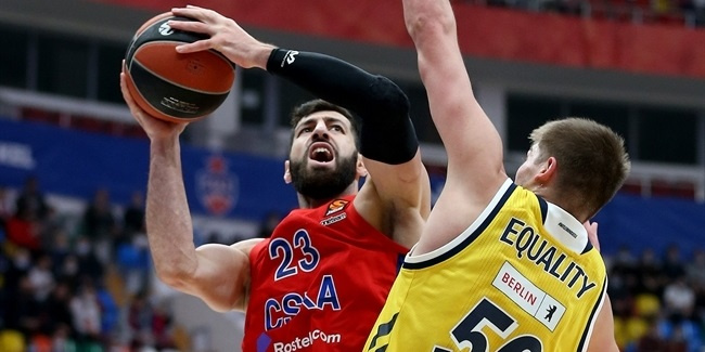 RS Round 4: CSKA Moscow vs. ALBA Berlin