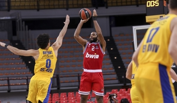 Clutch three-pointers nothing new for Olympiacos hero Harrison