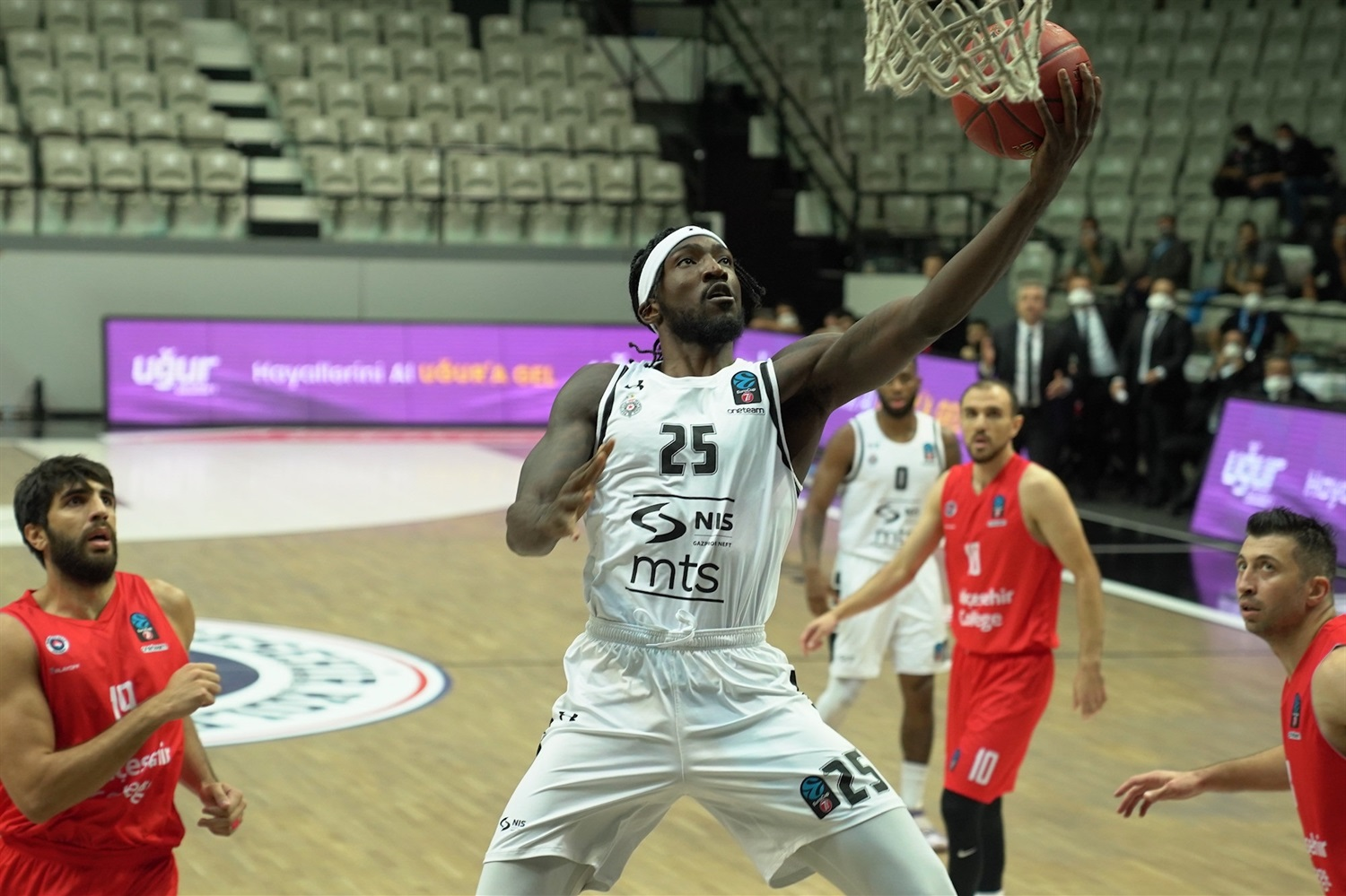 Rashawn Thomas - Partizan NIS Belgrade (photo Bahcesehir) - EC20