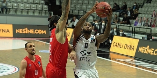 Miller-McIntyre's late surge carried Partizan