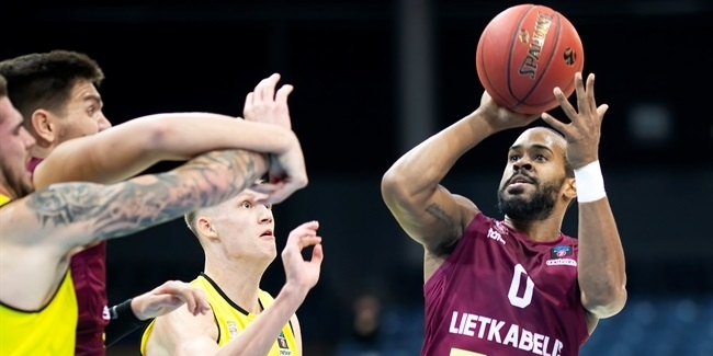 7DAYS EuroCup, Regular Season Round 4: Lietkabelis Panevezys vs. Telenet Giants Antwerp