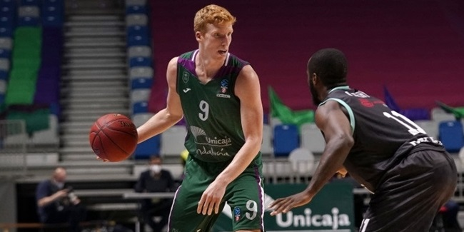Unicaja: Diaz out for 6 weeks