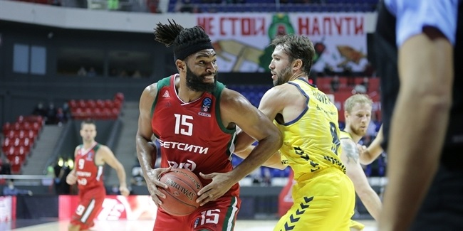Alan Williams, Lokomotiv: 'Every game means so much'