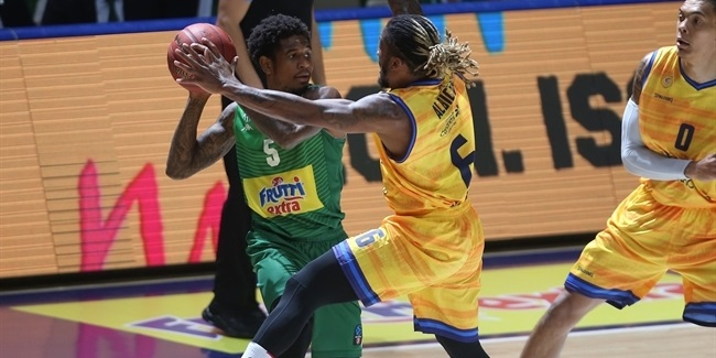 7DAYS EuroCup, Regular Season Round 4: Frutti Extra Bursaspor vs. Herbalife Gran Canaria