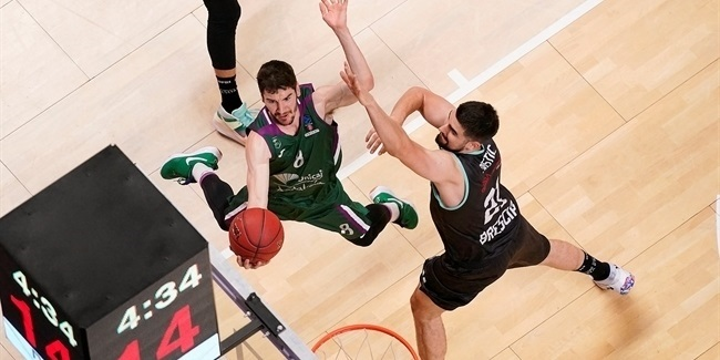 7DAYS EuroCup, Regular Season Round 4: Unicaja Malaga vs. Germani Brescia