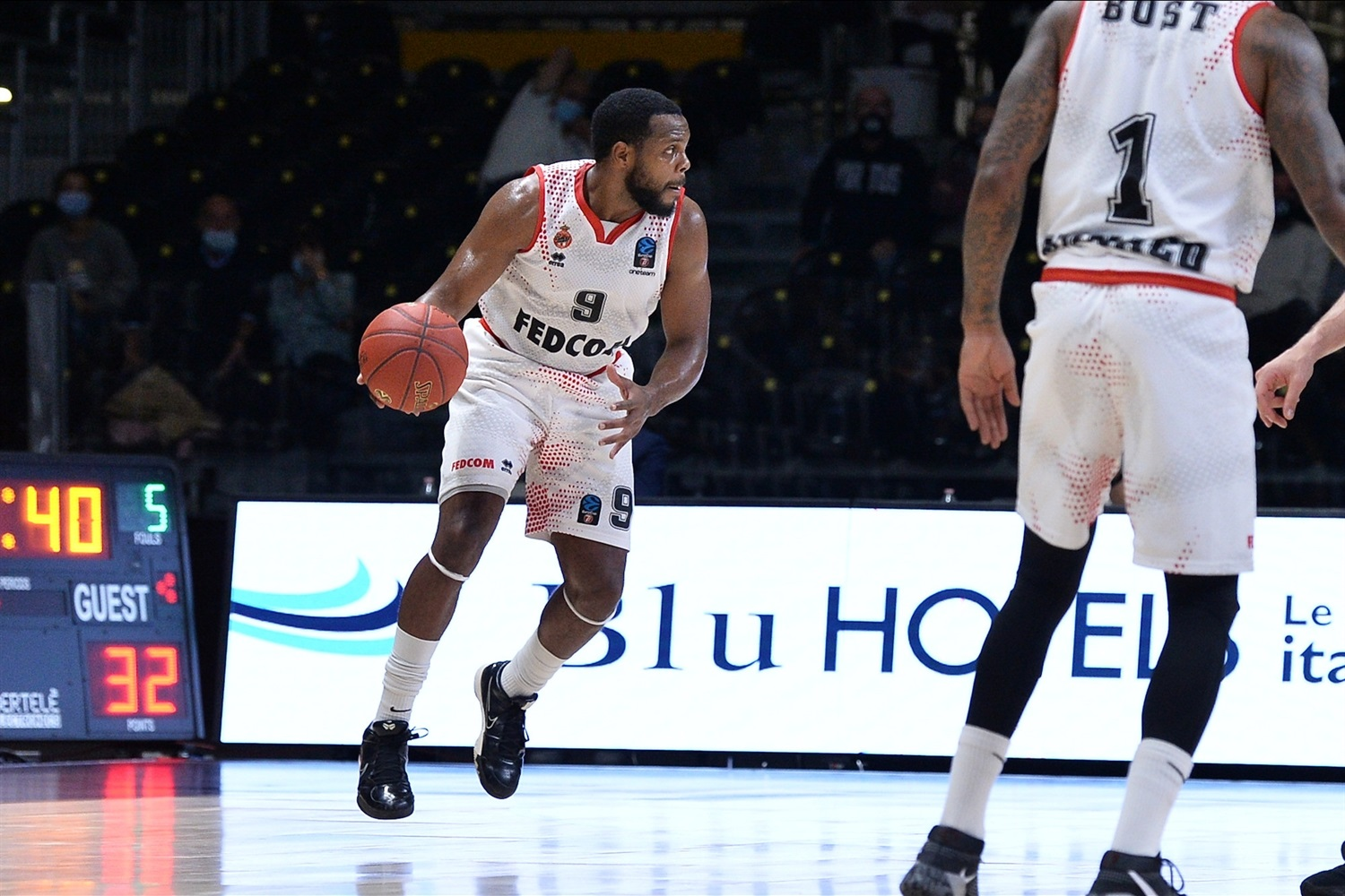 Marcos Knight - AS Monaco (photo Virtus - Giulia Pesino) - EC20