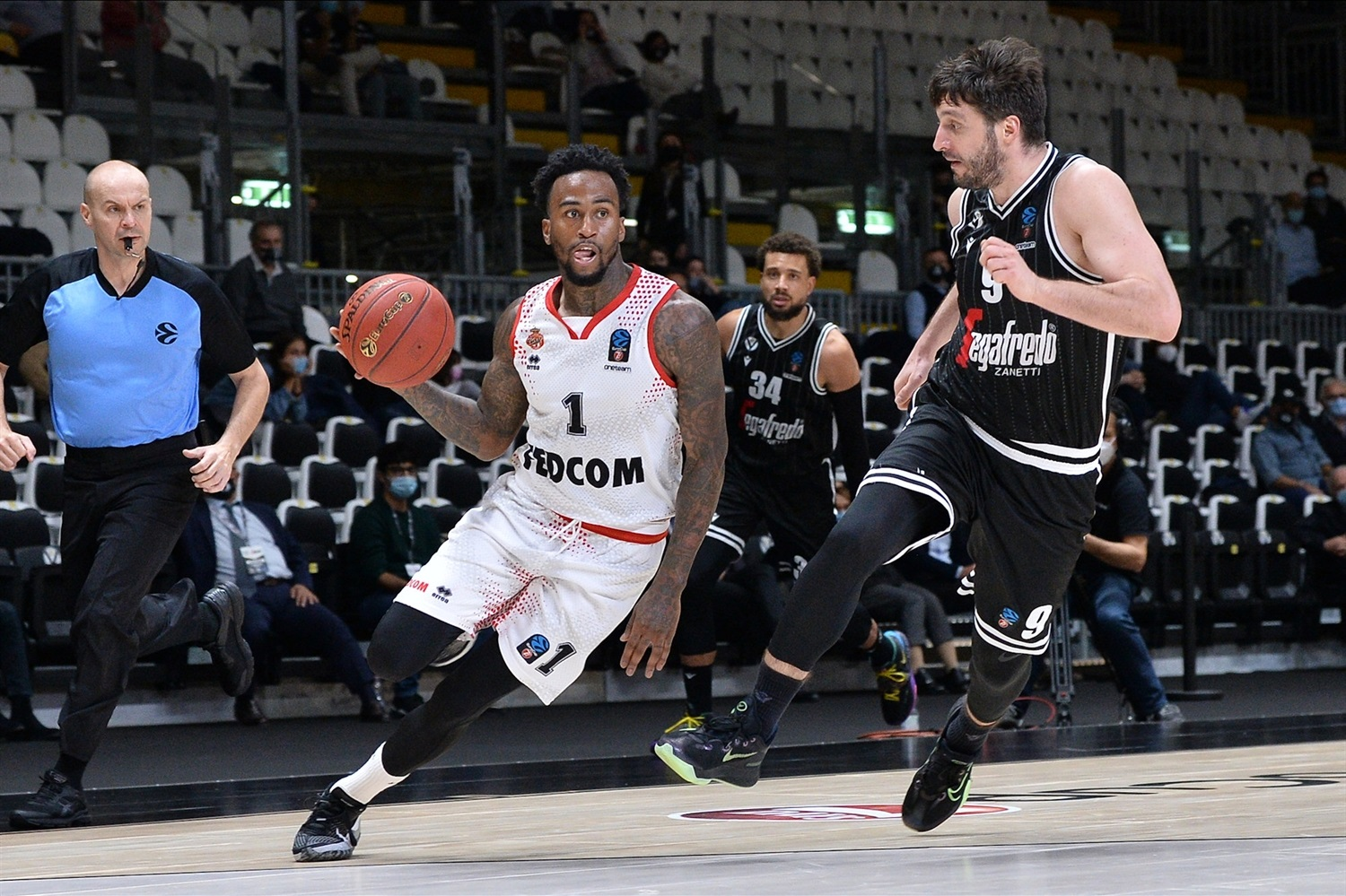 Dee Bost - AS Monaco (photo Virtus - Giulia Pesino) - EC20