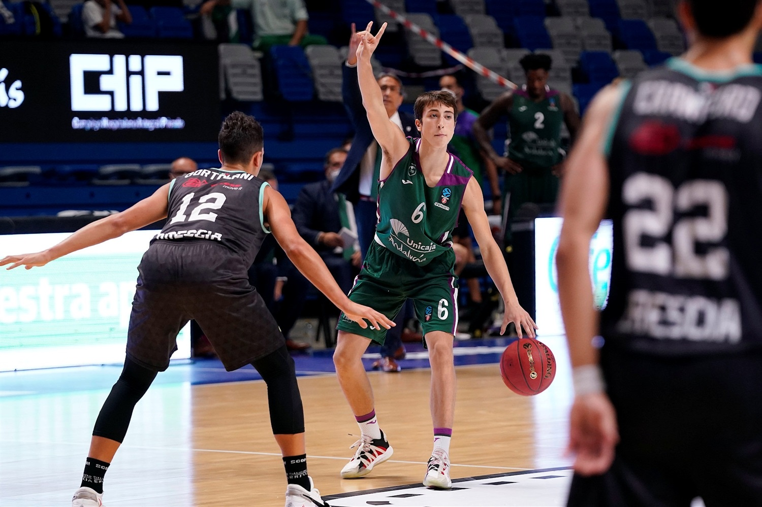 Rafa Santos - Unicaja Malaga (photo Unicaja - M. Pozo) - EC20