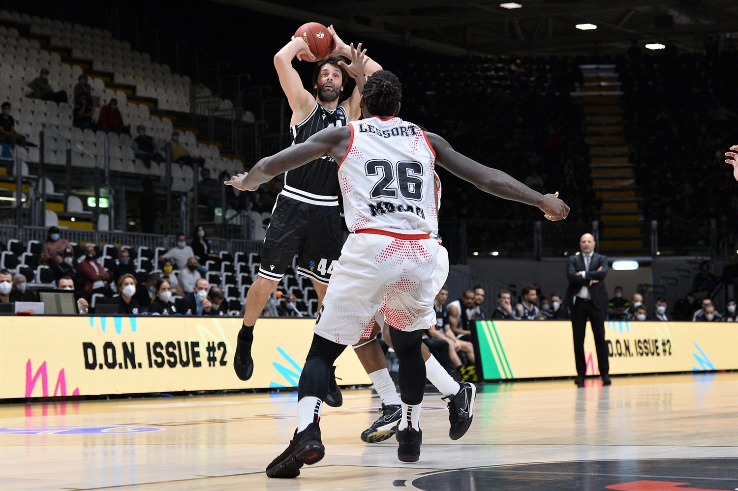 Milos Teodosic - Virtus Segafredo Bologna (photo Virtus - Giulia Pesino) - EC20