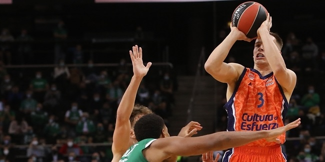 Valencia shooters sparked second-half dominance in Kaunas