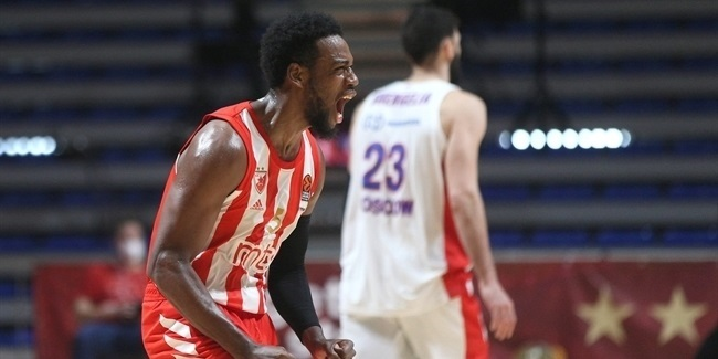 Loyd stayed positive to lift Zvezda over CSKA