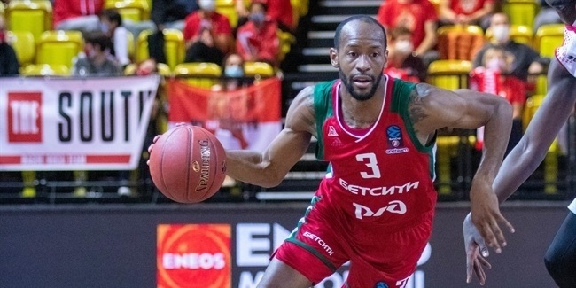 7DAYS EuroCup, Regular Season Round 5: AS Monaco vs. Lokomotiv Kuban Krasnodar