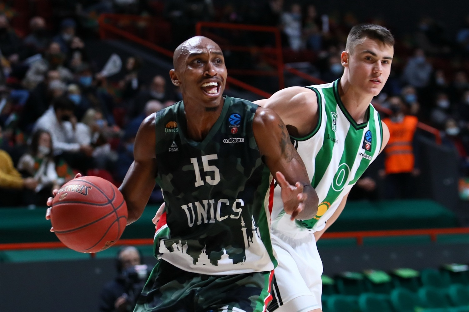 Jamar Smith - UNICS Kazan (photo UNICS - Kseniya Bogdanova) - EC20
