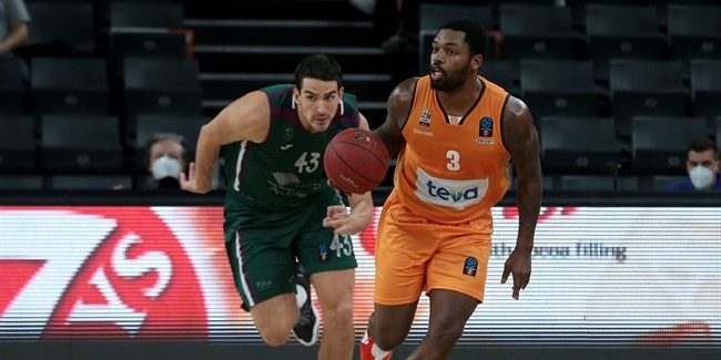7DAYS EuroCup, Regular Season Round 5: ratiopharm Ulm vs. Unicaja Malaga