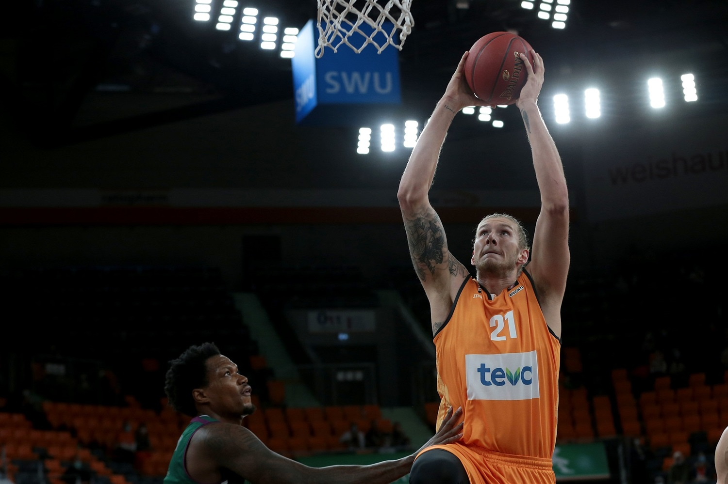 Dylan Osetkowski - ratiopharm Ulm (photo Ulm - Harry Langer) - EC20