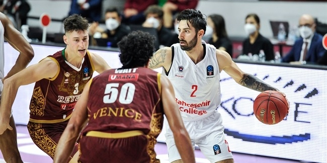 7DAYS EuroCup, Regular Season Round 5: Umana Reyer Venice vs. Bahcesehir Koleji Istanbul