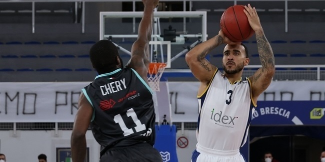 7DAYS EuroCup, Regular Season Round 5: Germani Brescia vs. Boulogne Metropolitans 92