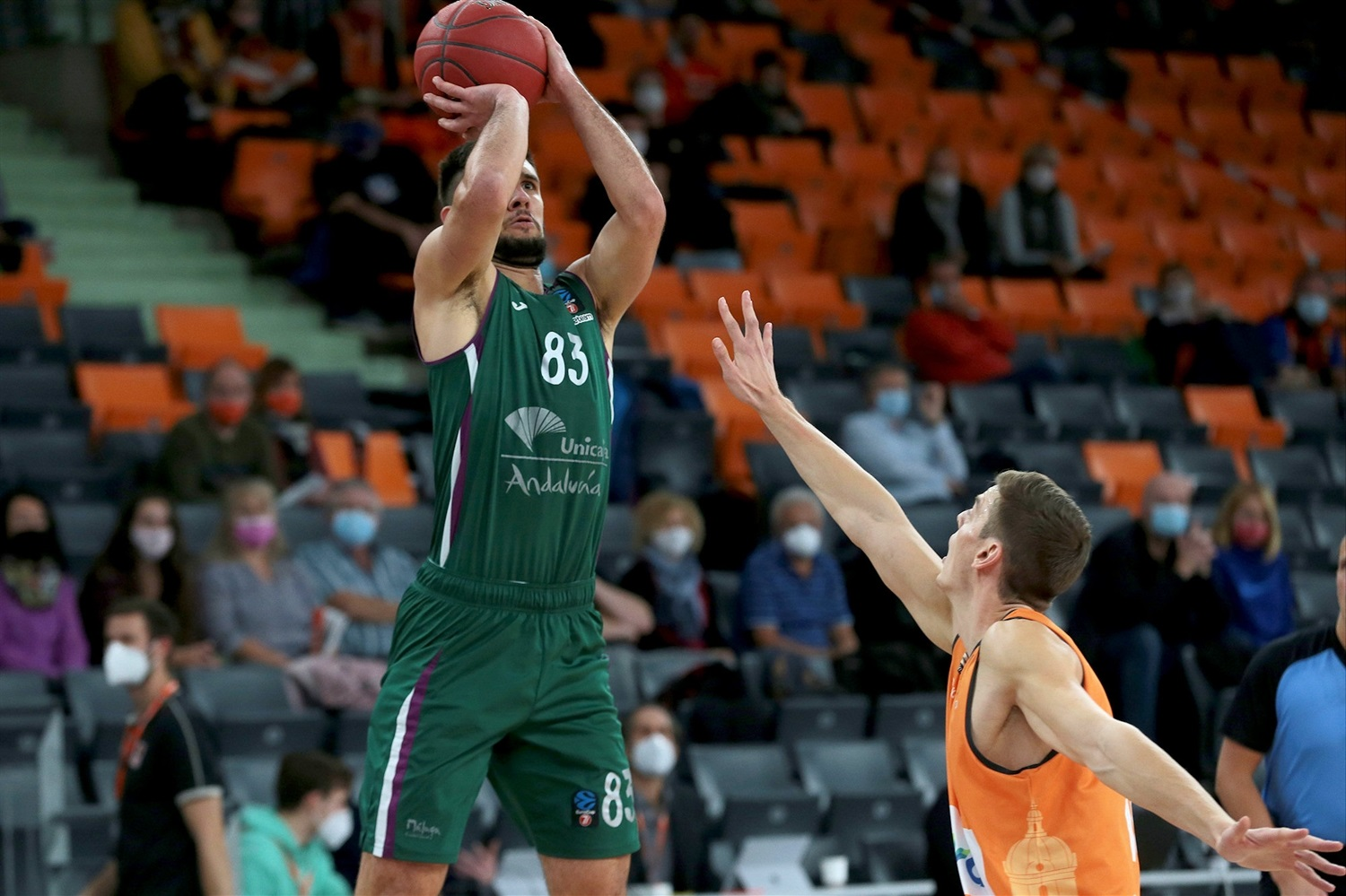 Axel Bouteille - Unicaja Malaga (photo Ulm - Harry Langer) - EC20
