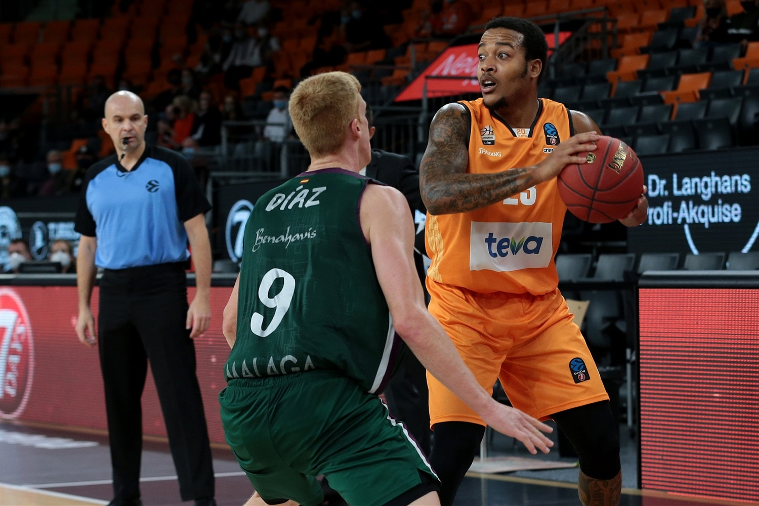 Troy Caupain - ratiopharm Ulm (photo Ulm - Harry Langer) - EC20