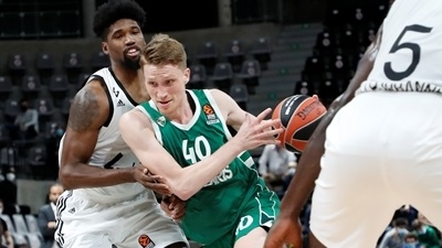 Zalgiris rallies for win at ASVEL