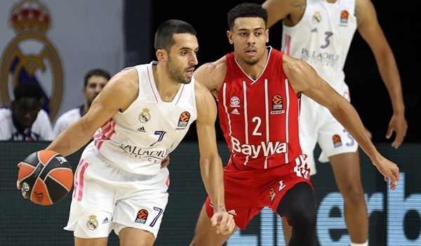 Campazzo changed Real's game through defense