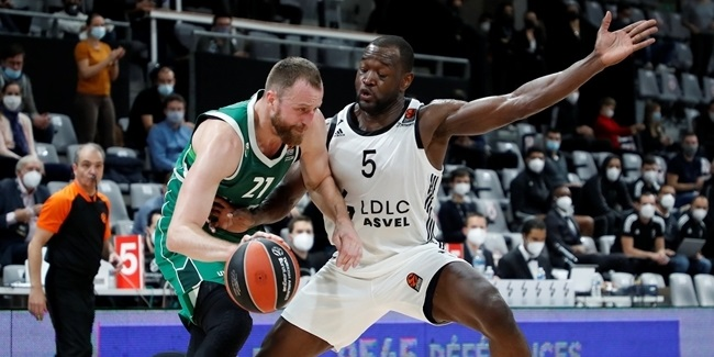 Zalgiris shined on defense in second half