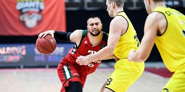 7DAYS EuroCup, Regular Season Round 6: Telenet Giants Antwerp vs. Lokomotiv Kuban Krasnodar