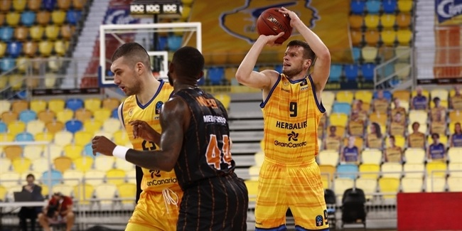 7DAYS EuroCup, Regular Season Round 6: Herbalife Gran Canaria vs. Promitheas Patras