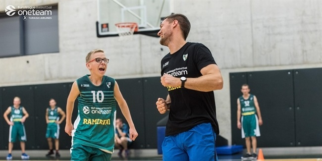 Zalgiris continues social well-being investment with One Team